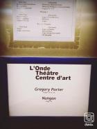 Nungan - 1ère partie Gregory Porter 2014